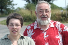 Christel & Paul Delahaye in 2006