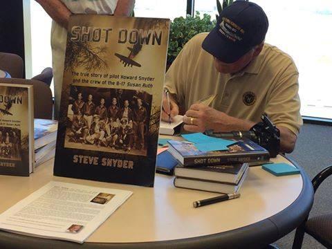Steve Snyder signing autographs