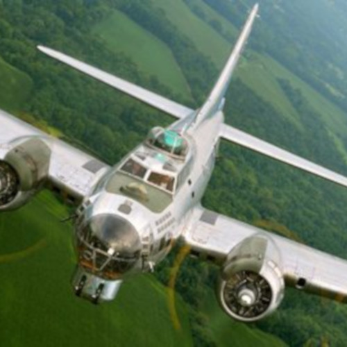 "The B-17 Bomber ""Sentimental Journey"""
